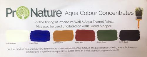 aqua colour concentrates