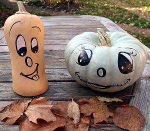 Pronature Halloween Painted Pumpkin