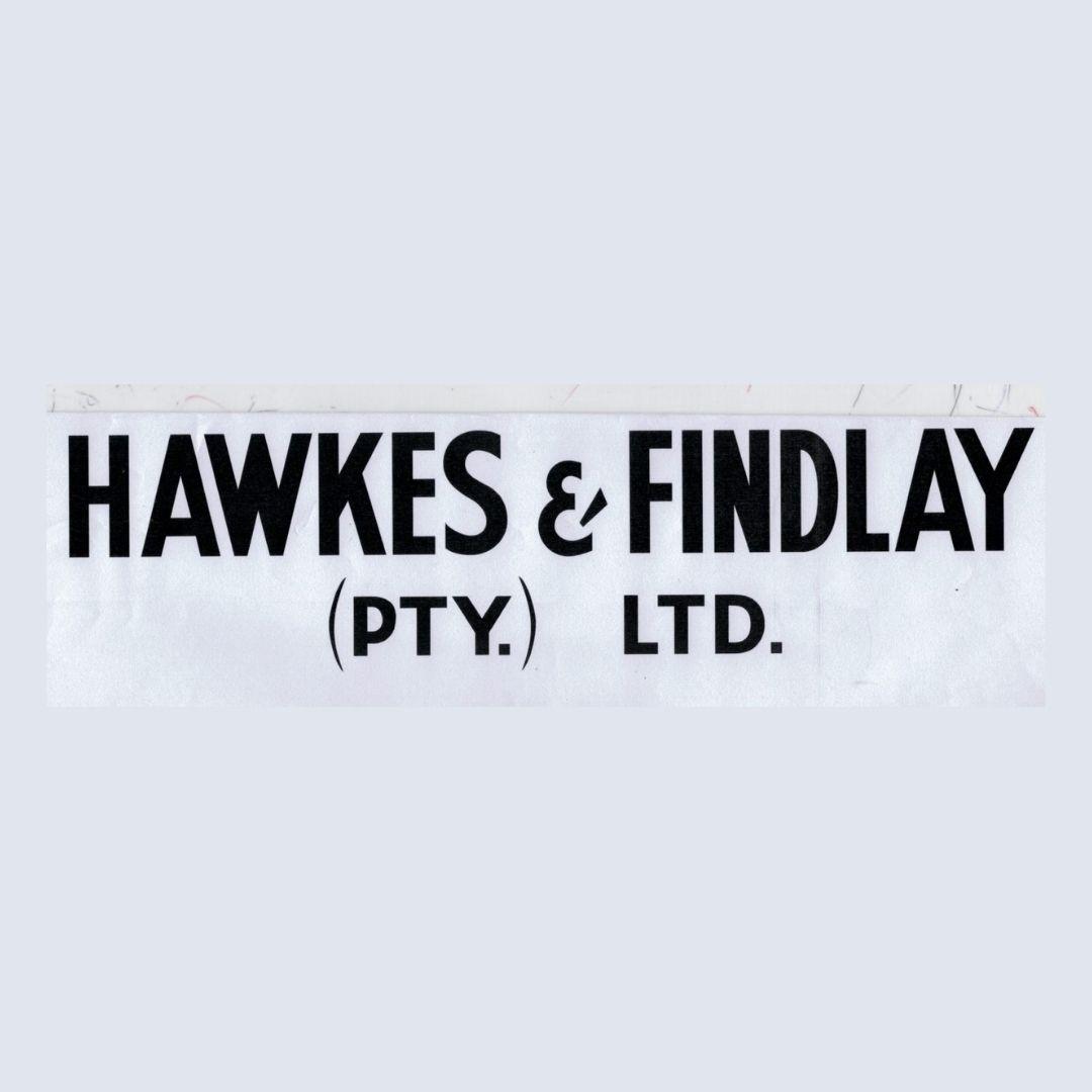 Hawkes and Findlay Logo