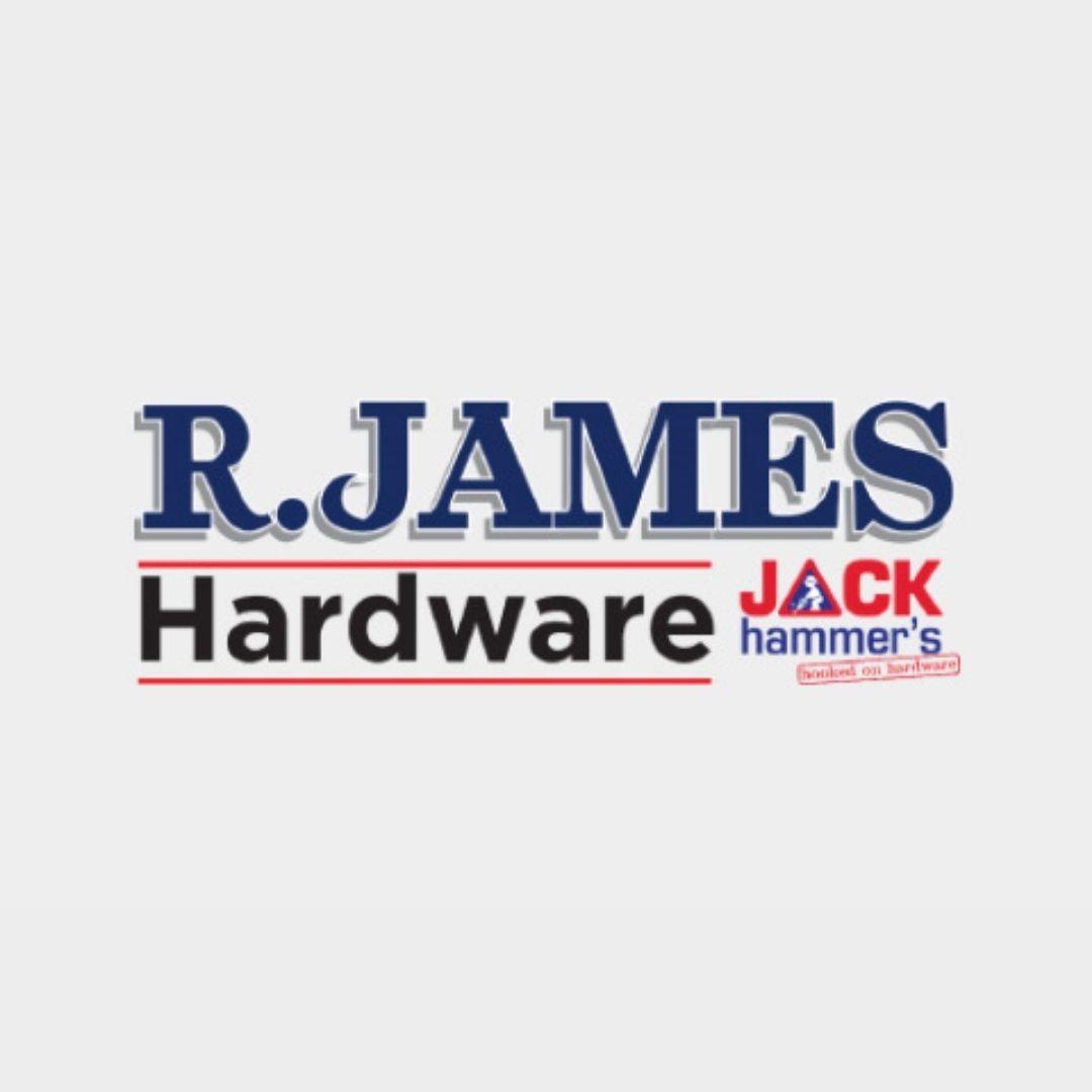 R James Hardware Logo