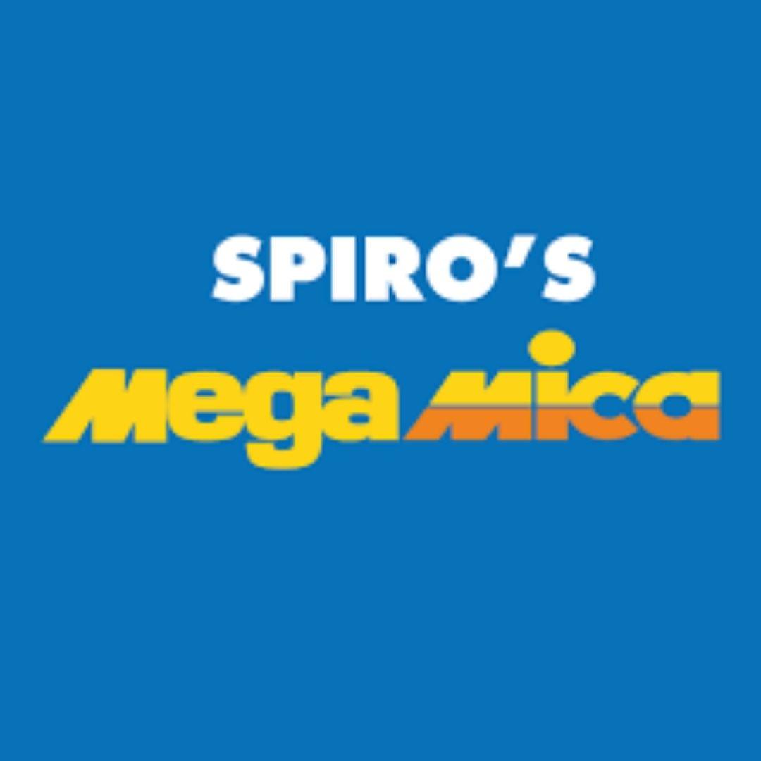 Spiro's Mega Mica Logo